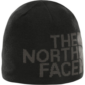 The North Face Reversible TNF Banner Beanie TNF Black/Asphalt Grey Logo Xl